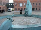 Monument Frode Jakobsen Nykøbing Mors. H. 4 B. 13 D. 8 meter 2011. Sculptor Hein Heinsen. Photo: Hein Heinsen